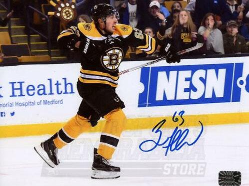 Brad Marchand Boston Bruins Signed Autographed Goal Scream Celebration 8x10
