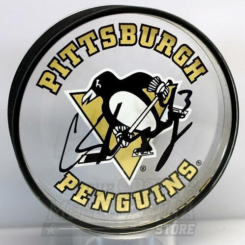Conor Sheary Pittsburgh Penguins Signed Autographed Penguins Acrylic Puck