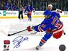 Carl Hagelin New York Rangers Signed Autographed Home Action 8x10
