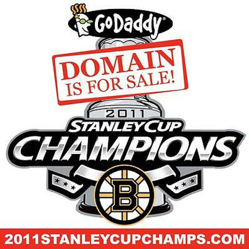 2011 STANLEY CUP CHAMPS .COM - Boston Bruins - Hockey - Domain Name - GoDaddy