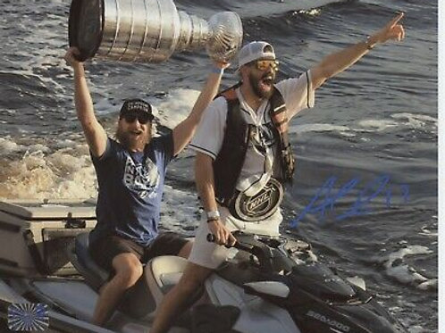 Alex Killorn Tampa Bay Lightning signed 16x20 Killorn & Stamkos sea-doo