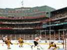 Boston Bruins Winter Classic game action view of ice 8x10 11x14 16x20 photo 0912