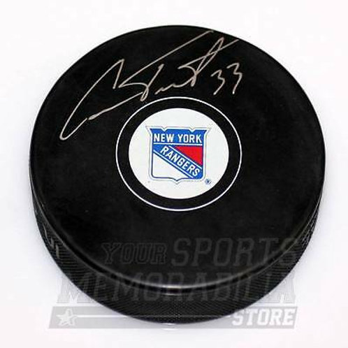 Cam Talbot New York Rangers Signed Autographed Rangers Hockey Puck