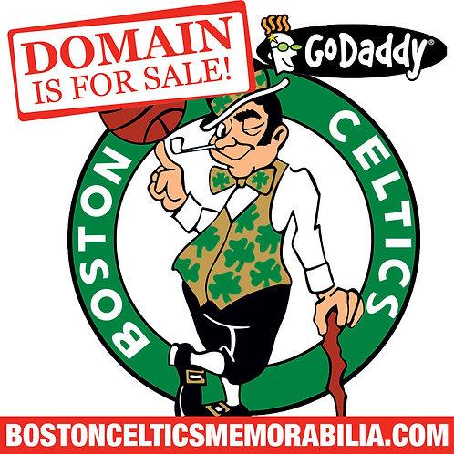 BOSTON CELTICS MEMORABILIA .COM - Basketball - NBA Store - Domain Name - GoDaddy