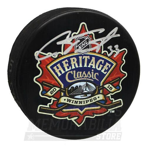 Cam Talbot Edmonton Oilers Signed Autographed Heritage Classic Puck