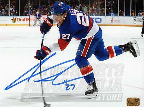 Anders Lee New York Islanders Signed Autographe?d Shot Action 8x10