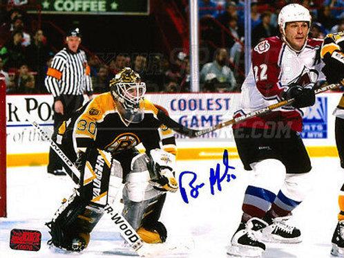 Bill Ranford Boston Bruins signed 8x10