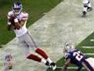 2007 Super Bowl Giants Amani Toomer sideline catch 8x10 11x14 16x20  photo 337
