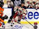 Brad Richards New York Rangers Signed 2012 Winter Classic Action 8x10 Flyers