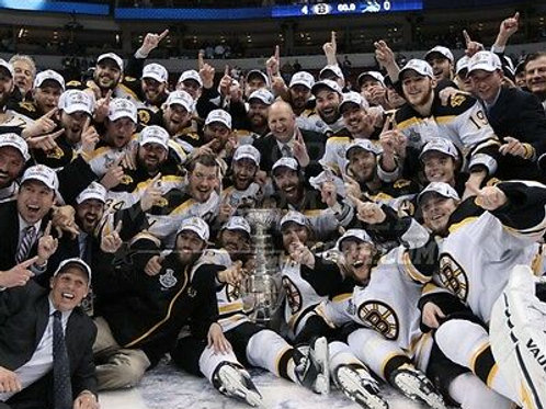 Boston Bruins 2011 Stanley Cup Champions  ice celebration 8x10 11x14 16x20 1772