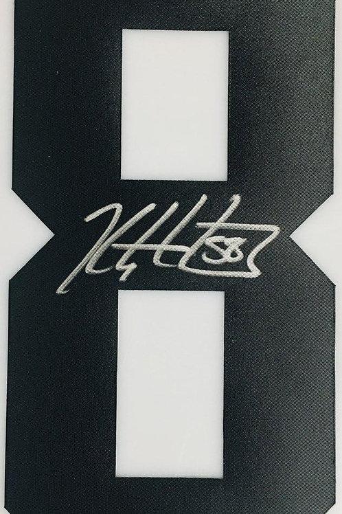 Kris Letang Pittsburgh Penguins Signed Autographed Black #8 Jersey Number S