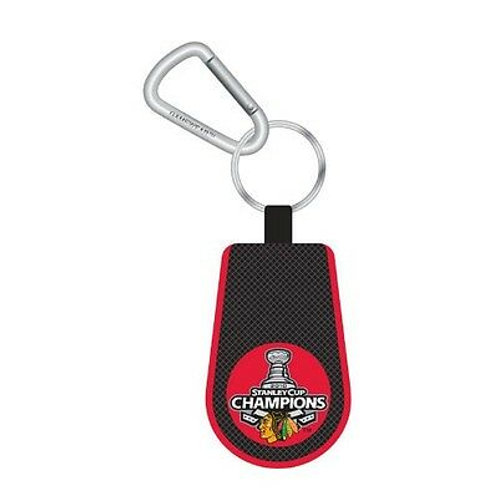 Chicago Blackhawks Stanley Cup Champions key chain