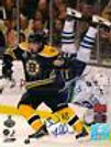Brad Marchand Boston Bruins Signed 2011 Stanley Cup Finals Sedin Flip 8x10