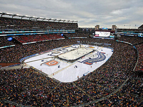 2016 Winter Classic ?Gillette Stadium Aerial View 8x10 11x14 16x20 20x24  4617