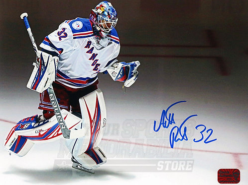 Antti Raanta New York Rangers Signed Autographed Away Entrance 8x10