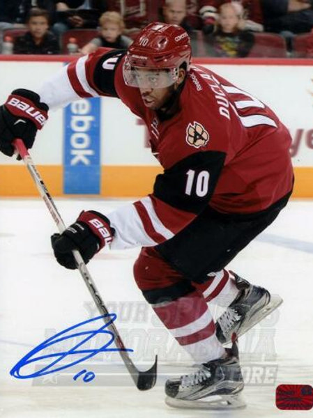 Anthony Duclair Arizona Coyotes Signed Autographed Home Action 8x10 V
