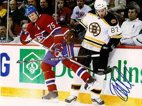 Brian McGrattan Boston Bruins tough guy signed 8x10 B Nashville Predators
