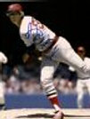 Bill Lee Boston Red Sox in action pitching signed 8x10