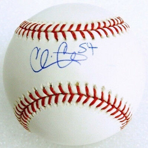 Chris Carter New York Mets Signed MLB Baseball