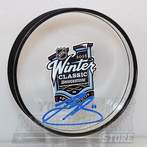 Brendan Gallagher Canadiens Signed Autographed 2016 Winter Classic Acrylic Puck