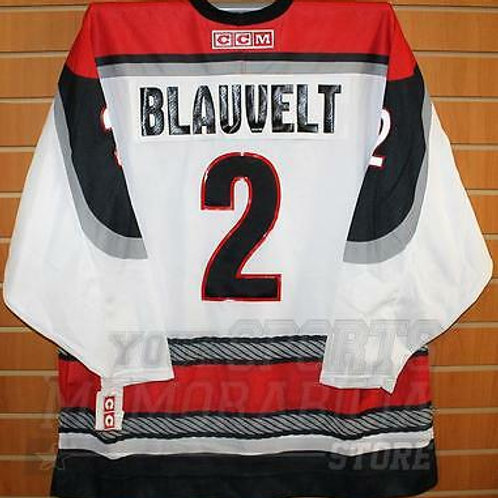 Blauvelt Portland Pirates #2 AHL CCM Official Replica Hockey Jersey XL