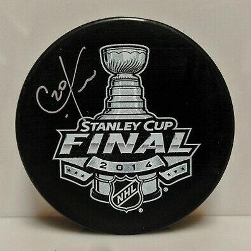 Chris Kreider New York Rangers Signed Autographed 2014 Stanley Cup Finals Puck