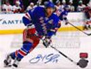 Brad Richards New York Rangers Signed Autographed Home Action 8x10