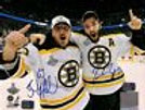 Brad Marchand Patrice Bergeron Boston Bruins signed Stanley Cup Champions 8x10