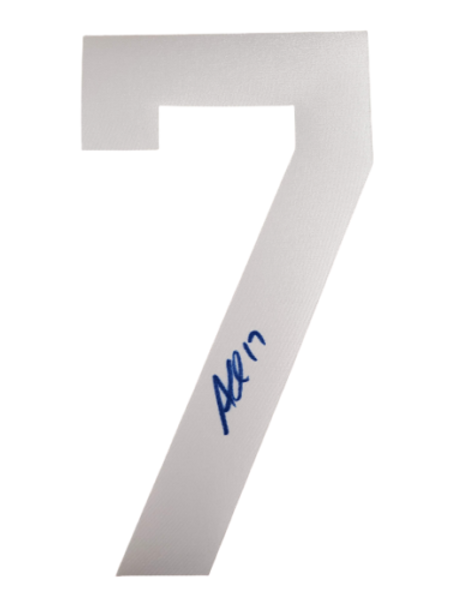 Alex Killorn Tampa Bay Lightning signed autographed white #7 jersey number