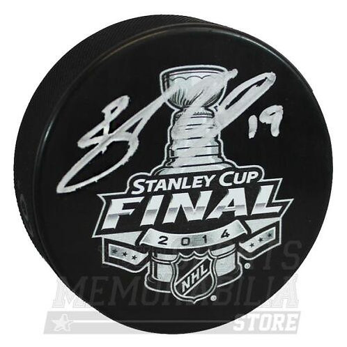 Brad Richards New York Rangers Signed Autographed 2014 Stanley Cup Final Puck