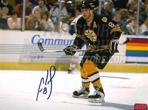 Cam Neely Boston Bruins Signed Autographed Away Action 16x20