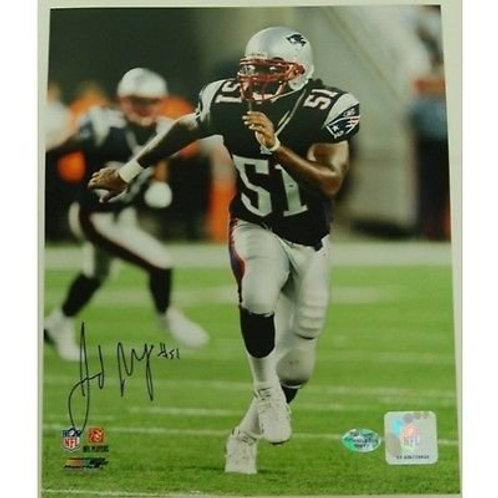 Jerod Mayo New England Patriots Signed 8x10 Photograph