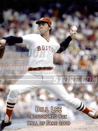 Bill Lee Boston Red Sox 2008 Hall of Fame 8x10 11x14 16x20 Photo 1186