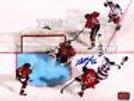 Brian Boyle New York Rangers Signed Overhead Celebration vs Ottawa Senators 8x10