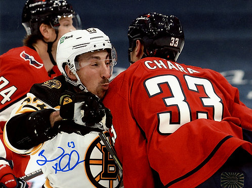 Brad Marchand Boston Bruins Signed Autographed Check from Chara 8x10
