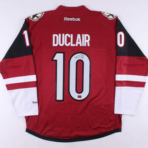Anthony Duclair Arizona Coyotes Signed Autographed Coyotes Home Hockey Jersey
