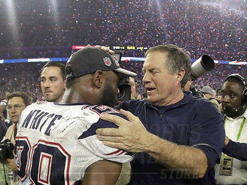 Bill Belichick James White Patriots Super Bowl LI 8x10 11x14 16x20 20x24  4941