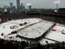 Bruins Flyers Winter Classic aerial view Boston landscape 8x10 11x14 16x20 947