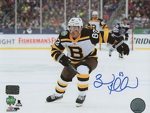 Brad Marchand Boston Bruins Signed Autographed 2019 Winter Classic Action 8x10