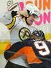 Adam McQuaid Boston Bruins Providence fight punch  8x10 11x14 16x20 photo 301