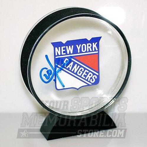 Chris Kreider New York Rangers Signed Autographed Rangers Acrylic Hockey Puck