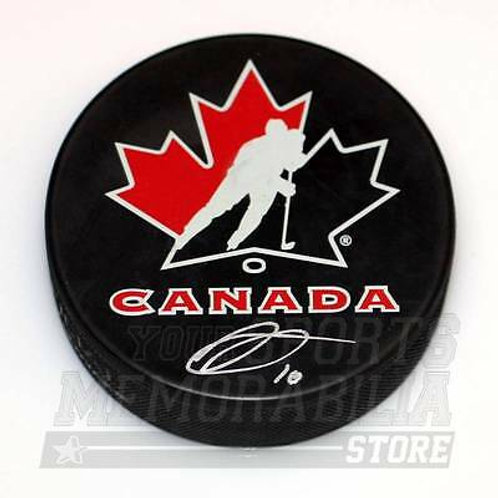 Anthony Duclair Arizona Coyotes Signed Autographed Team Canada Hockey Puck