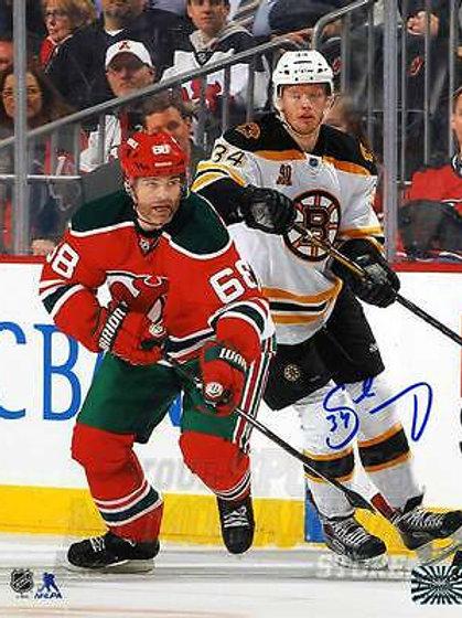 Carl Soderberg Boston Bruins Signed Autographe?d Away Action 8x10 Jagr
