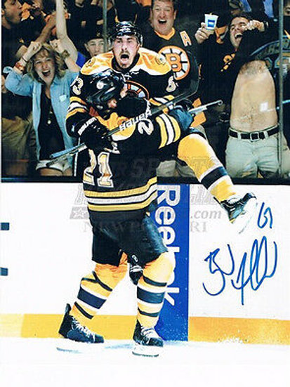 Brad Marchand Boston Bruins Stanley Cup signed 16x20 F