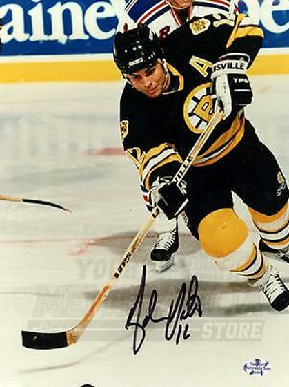 Adam Oates Boston Bruins Signed Autographed Action 8x10