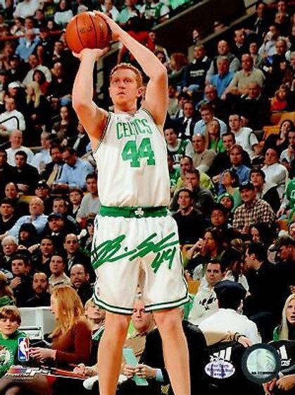 Brian Scalabrine Boston Celtics Signed Autographed Jump Shot 8x10