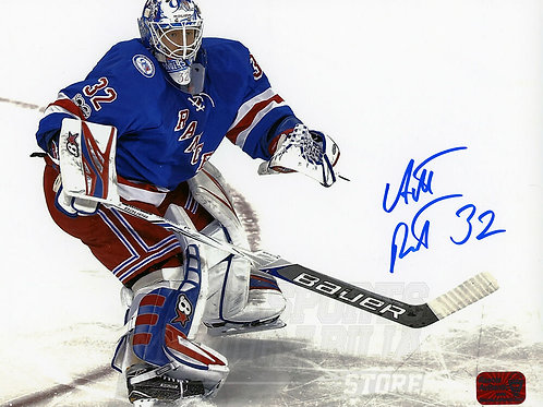Antti Raanta New York Rangers Signed Autographed Home Action 8x10