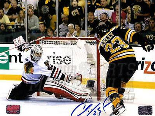 Chris Kelly Boston Bruins Signed Autographed 2013 Stanley Cup Finals Goal 8x10
