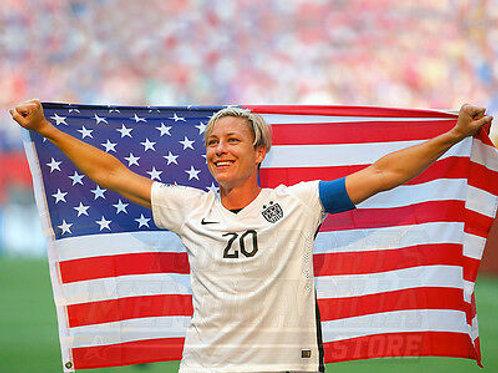 Abby Wambach USA 2015 World Cup Soccer 8x10 11x14 16x20 20x24 photo 4448