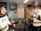 Chara & Ference Boston Bruins Locker Room Cup Celebration 8x10 11x14 16x20 1943